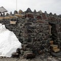 The Muir Shelter at Camp Muir.- Mount Rainier: Disappointment Cleaver Route