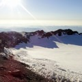 West rim of the crater.- Mount Rainier: Disappointment Cleaver Route