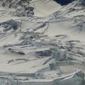 Emmons Glacier.- Mount Rainier: Disappointment Cleaver Route
