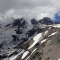 Nisqually and Wilson Glaciers.- Mount Rainier: Disappointment Cleaver Route