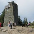 The obervation tower at the summit of Mount Constitution.- Mount Constitution