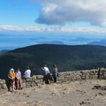 Panoramic view at the summit of Mount Constitution.- Mount Constitution