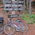 Signage at Mount Consitution's Summit.- Orcas Island, Mount Constitution Hike