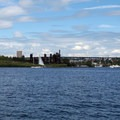 Gas Works Park from Lake Union.- Lake Union