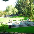 A picnic area near the International Rose Test Garden.- Washington Park