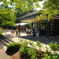 The gift shop at Washington Park's International Rose Test Garden.- Washington Park
