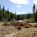 White River from White River Campground.- White River Station Campground