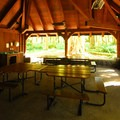 The Salmon River Picnic Shelter at Wildwood Recreation Site.- Wildwood Recreation Site