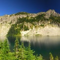 Eunice Lake and Tolmie Peak.- Tolmie Peak Hike