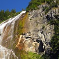 Spray Falls.- Spray Waterfall + Spray Park Hike