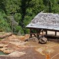 Enjoy a 108-degree soak from 150 feet above the North Umpqua River.- Umpqua Hot Springs