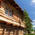 The Sunrise Visitor Center in Mount Rainier National Park.- Sunrise Point