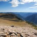 View east from Burroughs Mountain.- Burroughs Mountain Hike