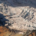 Mount Rainier's Winthrop Glacier from Burroughs Mountain.- Burroughs Mountain Hike