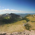Panoramic view north from the Burroughs Mountain.- Burroughs Mountain Hike