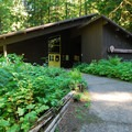 Ohanapecosh Visitor Center.- Ohanapecosh Campground