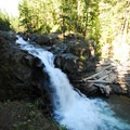 Silver Falls. Mount Rainier National Park.- Silver Falls and Hot Springs Loop Trail
