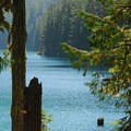 George Lake, Mount Rainier National Park.- Gobblers Knob + Lake George Hike
