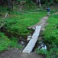Trail up to Gobblers Knob.- Gobblers Knob + Lake George Hike