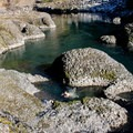 A swimming hole along the Clackamas River Trail.- Clackamas River Trail