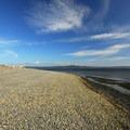 The beach at Fay Bainbridge Park along the Puget Sound.- Fay Bainbridge Park