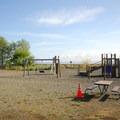 The day use area Fay Bainbridge Park.- Fay Bainbridge Park Campground