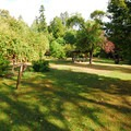 The tent-only camping area at Fay Bainbridge Park Campground.- Fay Bainbridge Park Campground
