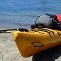 A beach break on the way to Lemon Island.- Columbia River: Hayden Island to Lemon Island