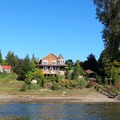 One of many nice houses to look at along the paddle.- Willamette River: Jon Storm Park to George Rogers City Park