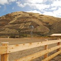 The old Murtha Ranch in Cottonwood Canyon State Park.- Cottonwood Canyon State Park