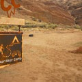 Hiker and biker campsites at Lone Pine Campground.- Cottonwood Canyon State Park