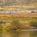 Lone Pine Campground in Cottonwood Canyon State Park.- Cottonwood Canyon State Park