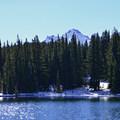 Demaris Lake and Broken Top (9,175').- Demaris Lake