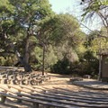 Campfire Amphitheater.- El Capitan State Beach Campground