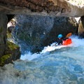 Butcher's Block Rapid.- Ohanapecosh River: Secret Camp to La Wis Wis Campground