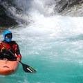 Beautiful water below Ohanapecosh Falls.- Ohanapecosh River: Secret Camp to La Wis Wis Campground