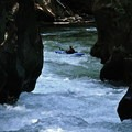 Looking down Upper Zig Zag.- White Salmon River