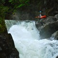 Scouting Double Drop.- White Salmon River