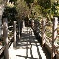 Bridge over El Capitan Creek.- El Capitan Canyon Nature Resort