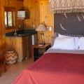 Cabin interior.- El Capitan Canyon Nature Resort