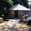 El Capitan Canyon's sales office.- El Capitan Canyon Nature Resort