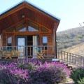Cedar cabin in El Capitan Canyon.- El Capitan Canyon Nature Resort