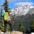Summit happiness on Grizzly Peak.- Pamelia Lake + Grizzly Peak