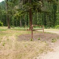 Paradise Campground on White Cap Creek.- Paradise Campground
