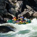 Jim's Creek Rapid.- Selway River