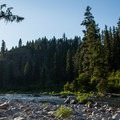 Mid-summer sun on the Selway River.- Selway River