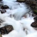Pamelia Creek.- Pamelia Lake + Grizzly Peak