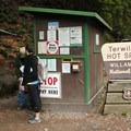 The entry is usually staffed to help provide information and accept payment.- Terwilliger Hot Springs