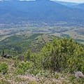 A spring view of Ashland from Grizzly Peak.- Grizzly Peak