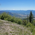 Mount Shasta (14,179') and Pilot Rock from Grizzly Peak.- Grizzly Peak